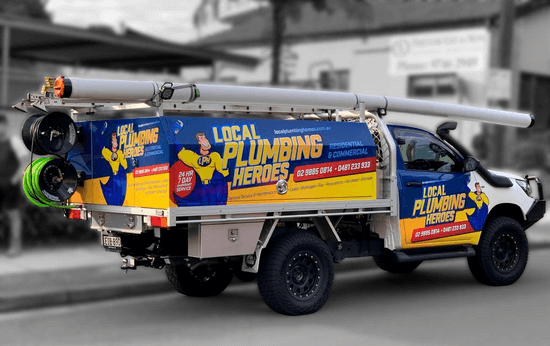 Emergency Plumber Commercial Vechicle